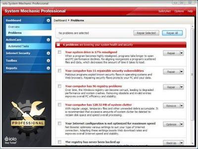 system mechanic pro 11 keygen for mac
