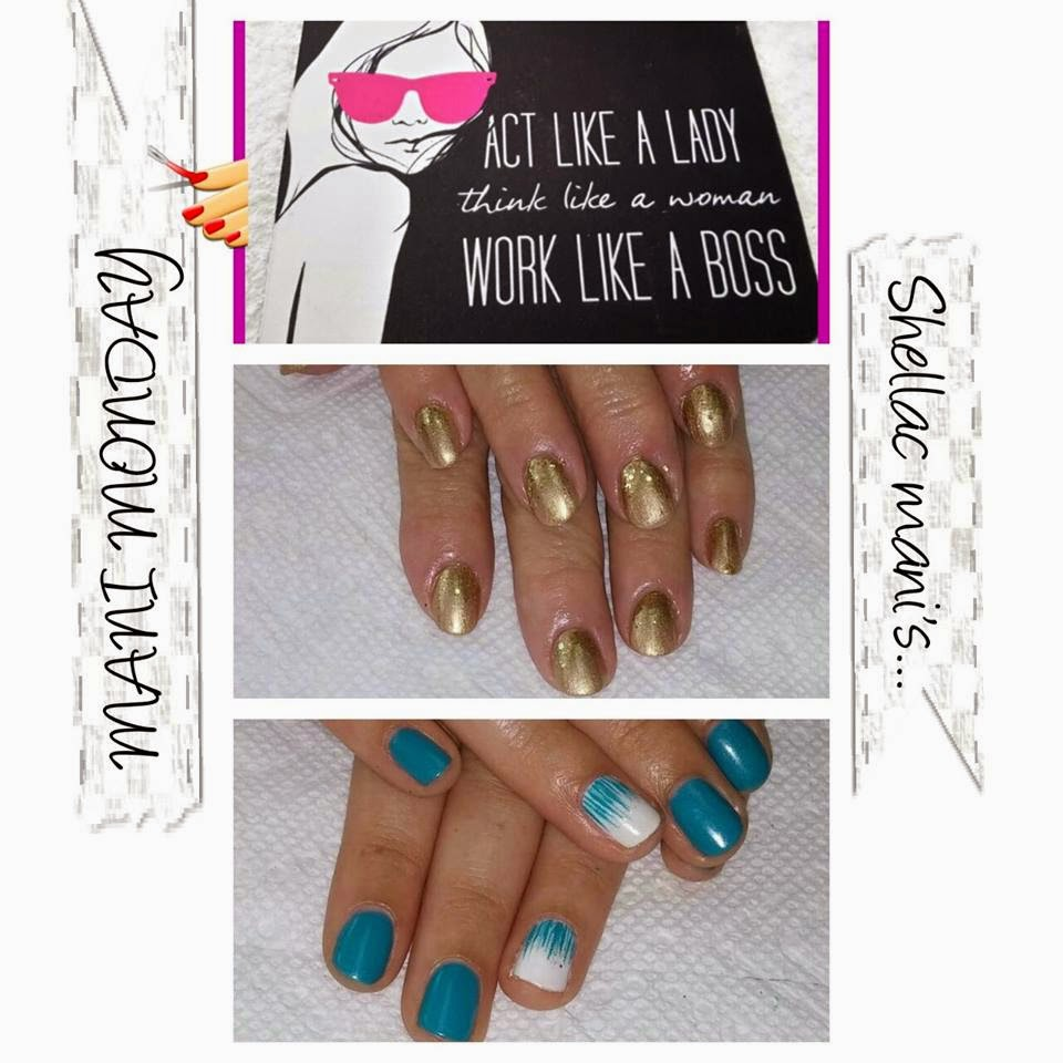 Shellac acrylics extension French clear tip, paint your Shellac color in French embedded nail decals manicure's
