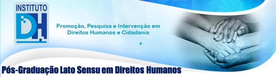 Pós-graduação Lato Sensu em Direitos Humanos