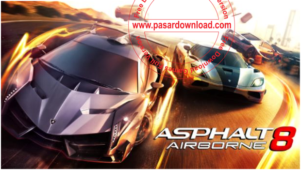 Download Games Android Asphalt 8 Airborne v1.3 + File Obb