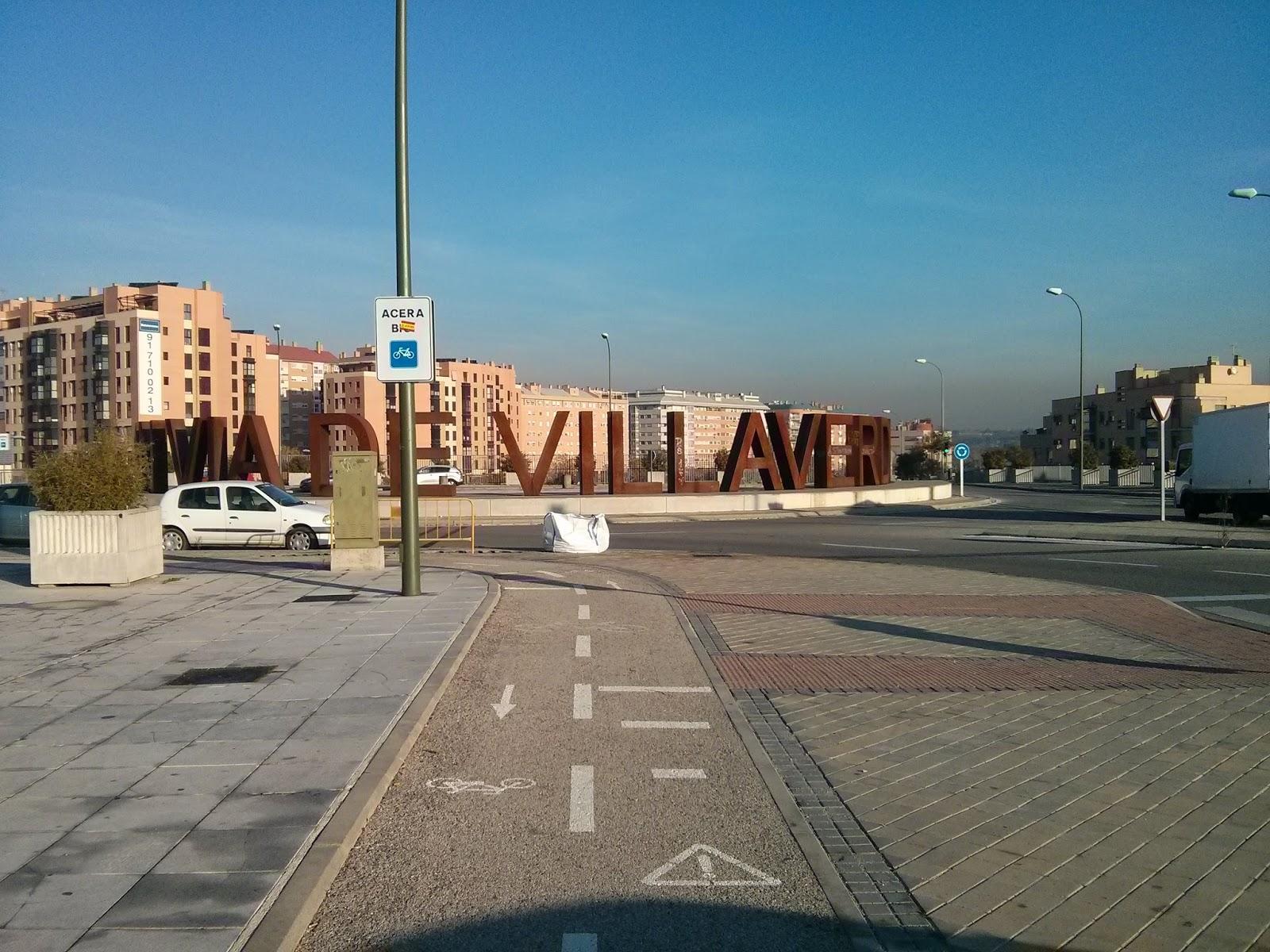 Rodeando la urbe anillo verde ciclista de madrid - Anillo verde ciclista madrid mapa ...
