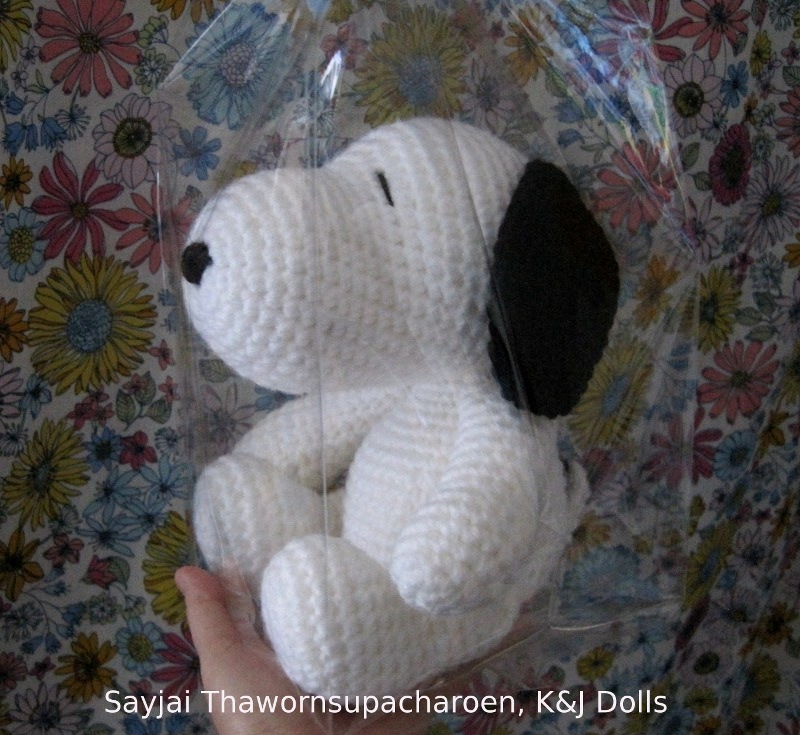 Snoopy - Sayjai Amigurumi Crochet Patterns ~ K and J Dolls ...