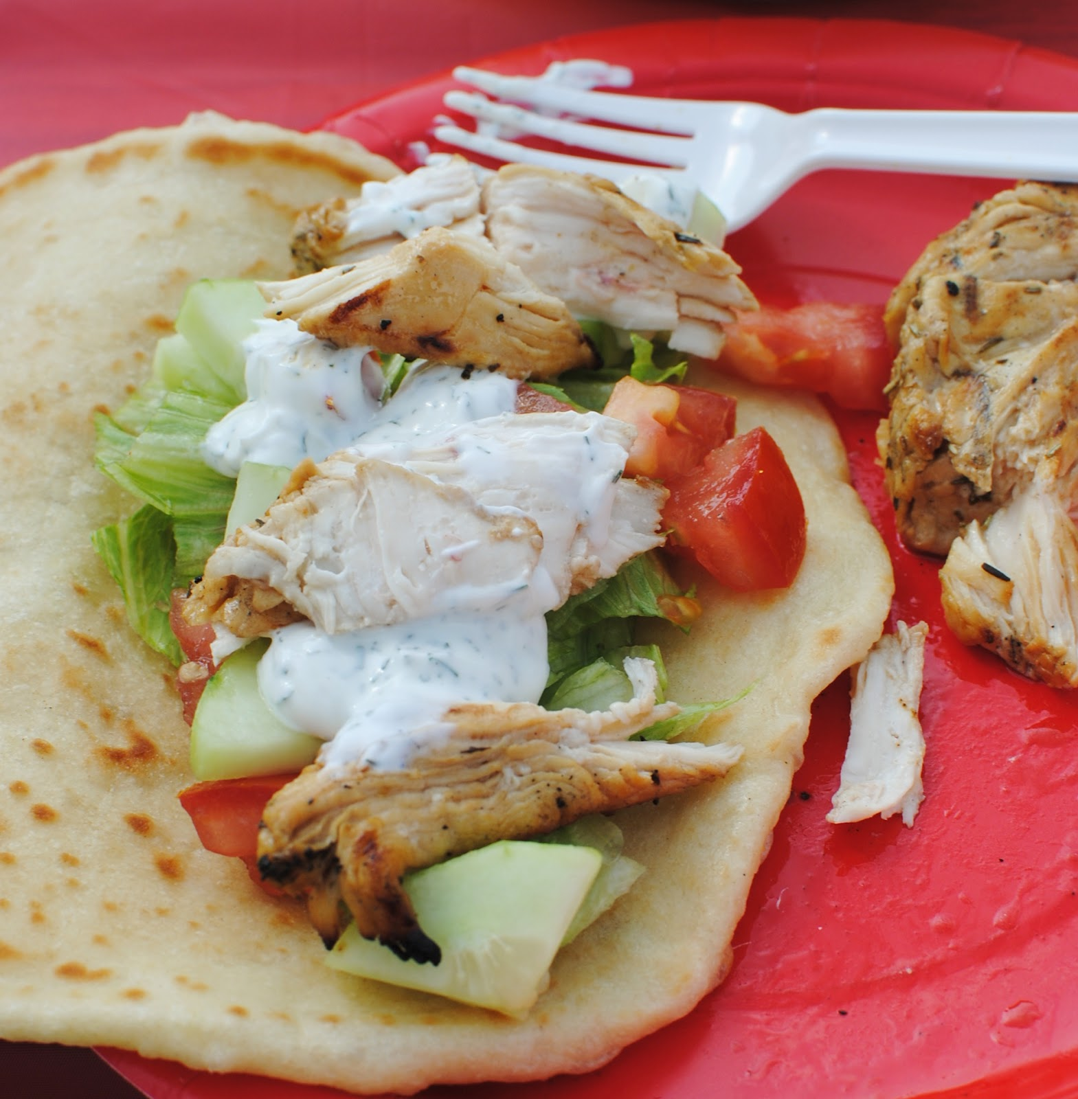 one of the best meals I've made in a long time. Greek Chicken Souvlaki ...