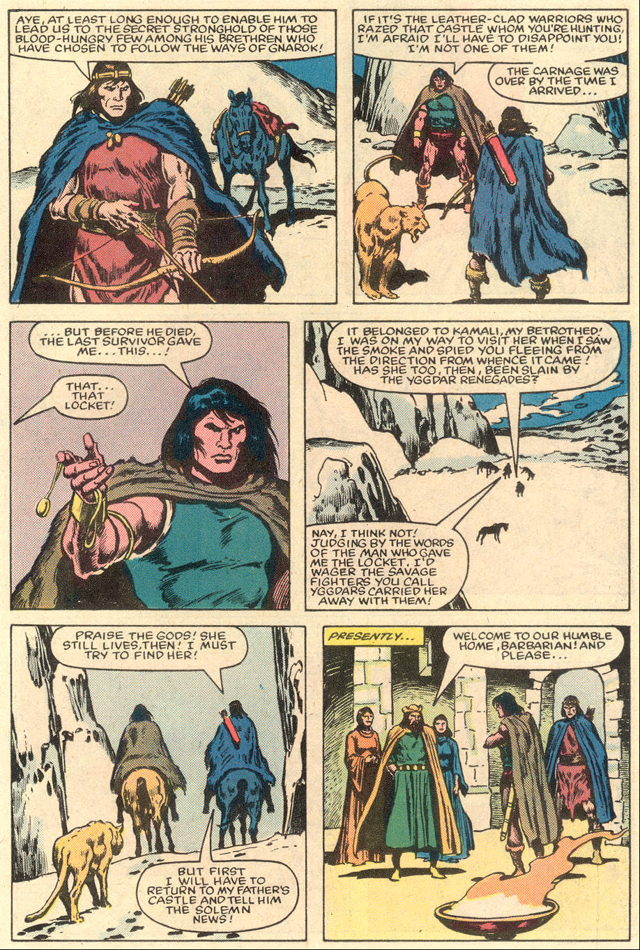 Conan the Barbarian (1970) Issue #151 #163 - English 9