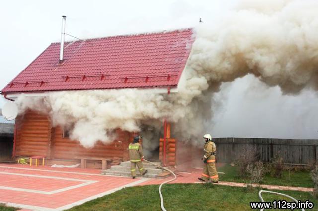 Пожар в Крапивине Сергиев Посад