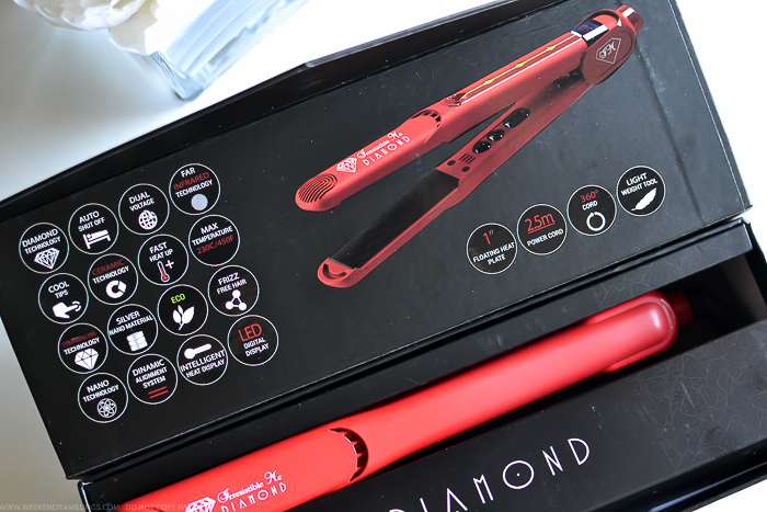 Irresistible Me Diamond Professional Hair Styler Straightener Flat Iron Review