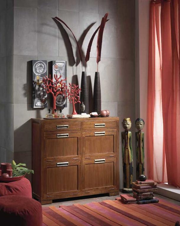 El blog de issa un aire colonial for Muebles estilo banak