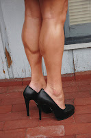 sexy shaped calves