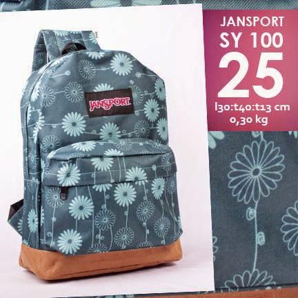 jual online tas ransel murah motif bunga
