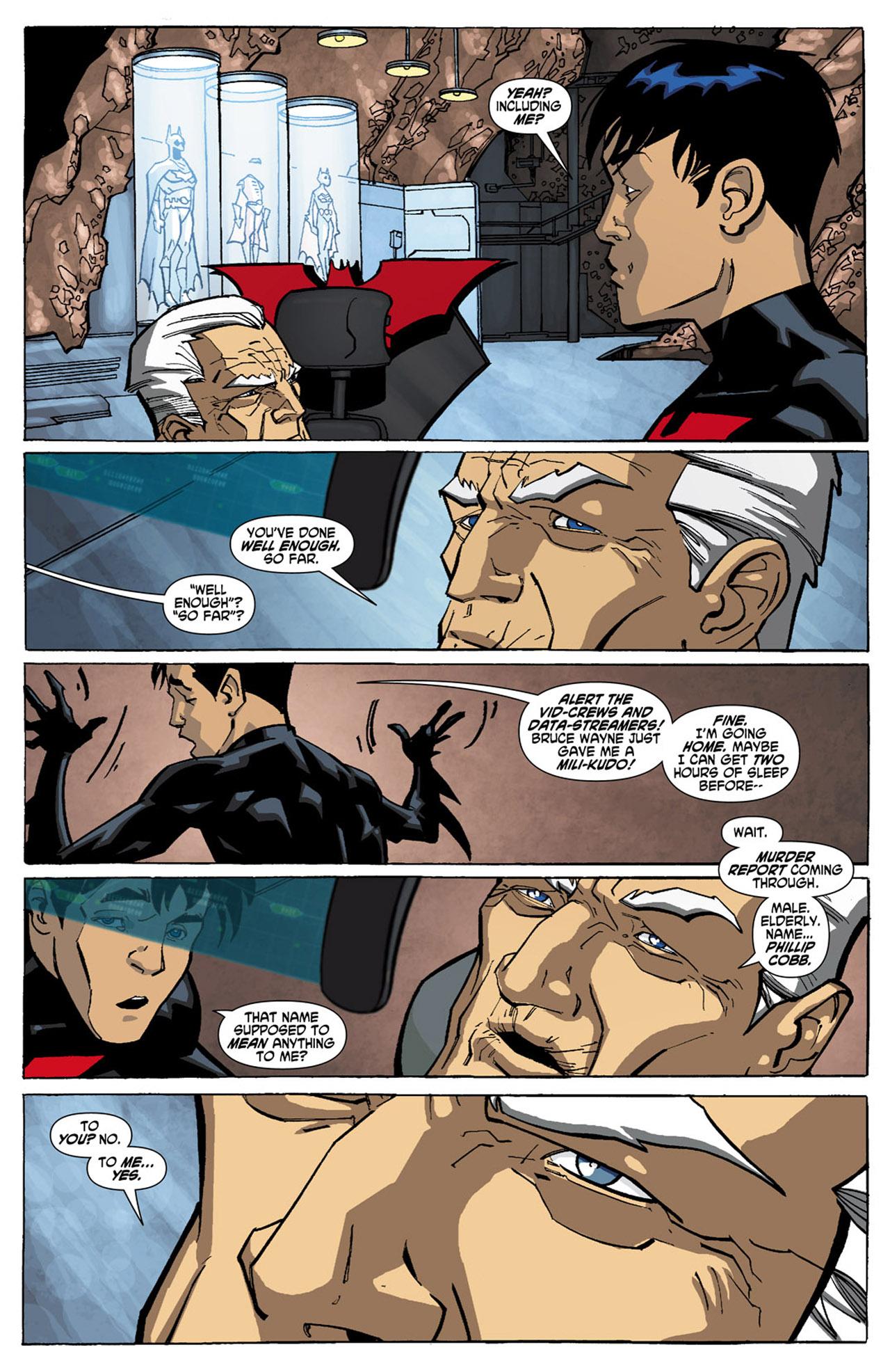 Batman Beyond (2010) Issue #1 #1 - English 17