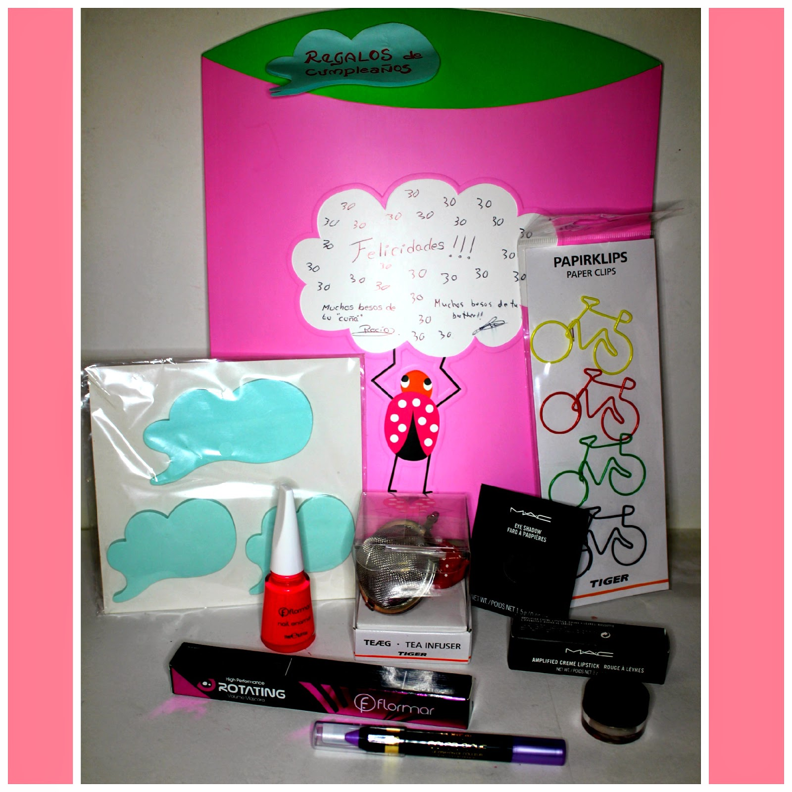Los swatches de eneri regalos de cumplea os de maquillaje primera parte - Que regalar a tu hermana ...