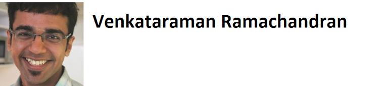 Venkataraman Ramachandran's Blog