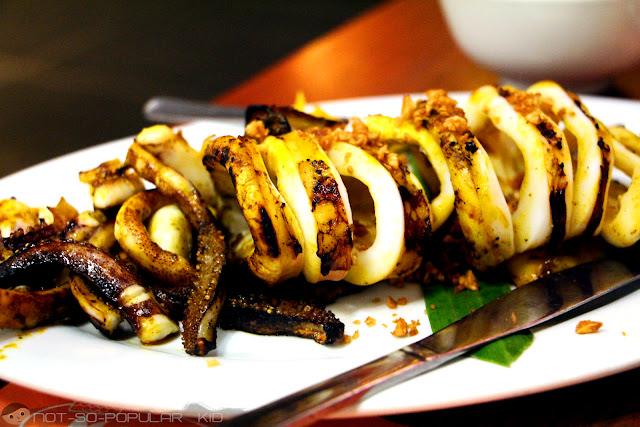 Grilled Squid in Marina