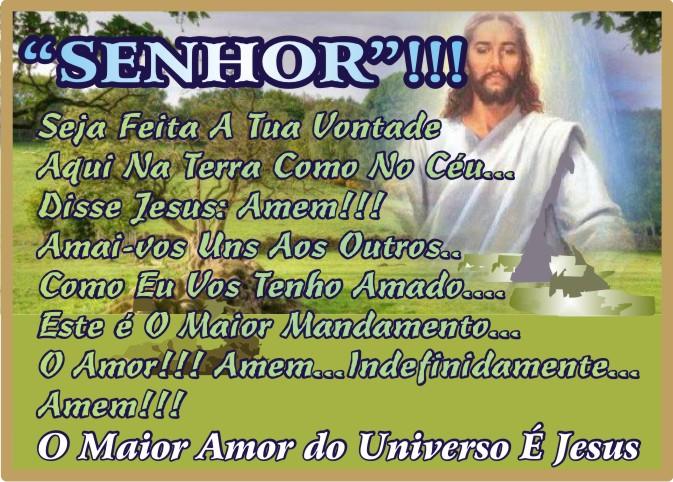 O maior Amor do Universo é Jesus Cristo