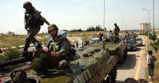 la proxima guerra tropas sirias tiran a matar