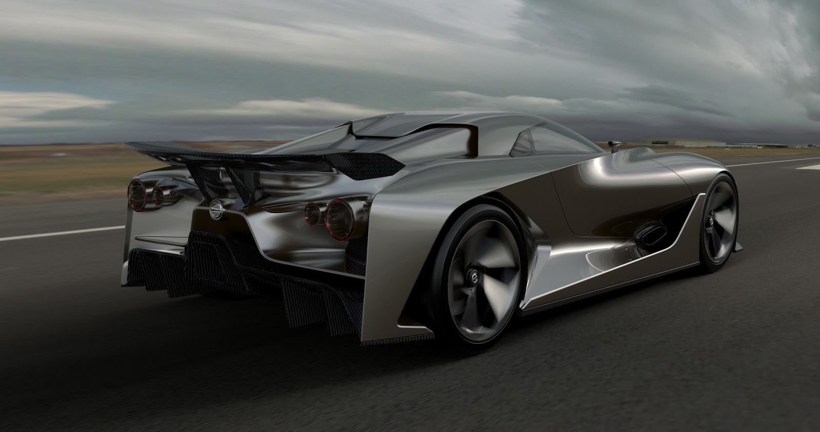 The next GT-R? Nissan 2020 Concept Gran Turismo - YouTube