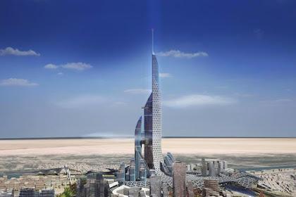 Iraq Akan Bangun Gedung Tertinggi di Dunia, 1152 Meter