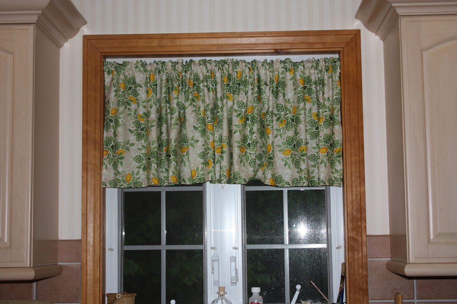 Full Knit Kitchen Curtains