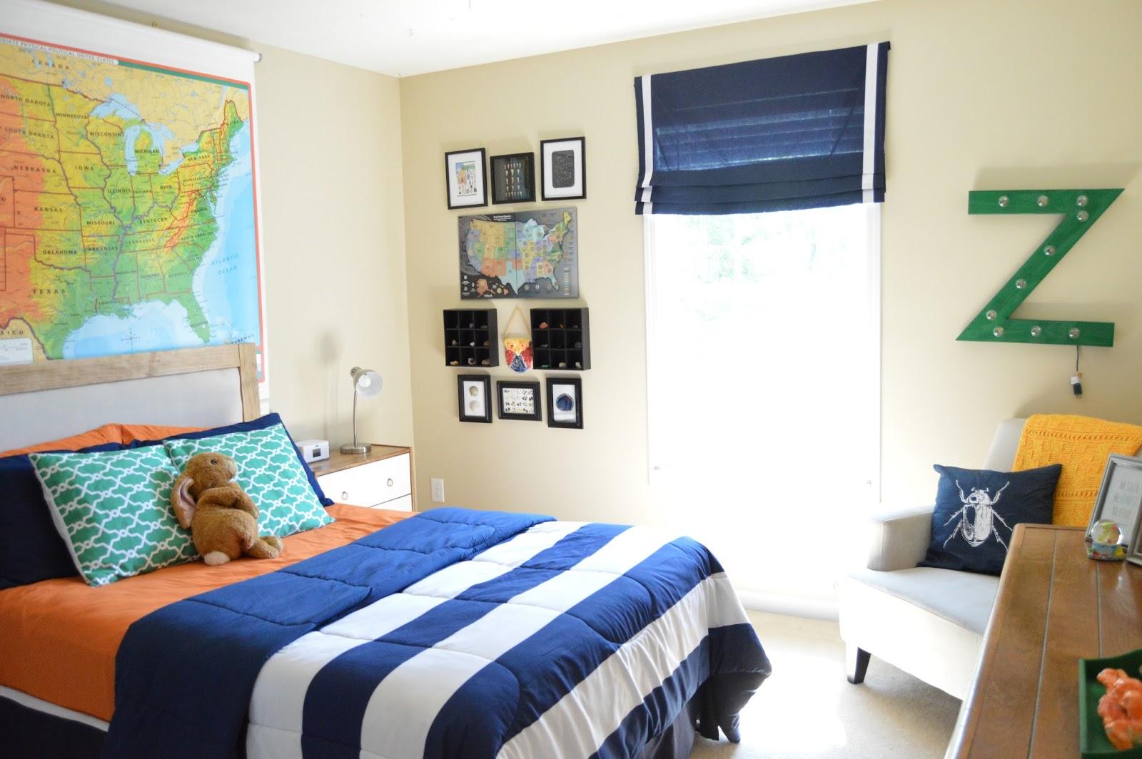 Tween Boy Bedroom designed to dwell: tween boy's bedroom reveal