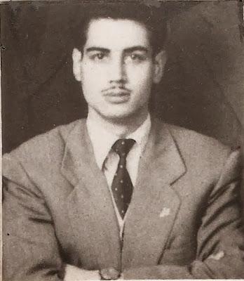 El ajedrecista español Rafael Corraliza de Arcos en 1957