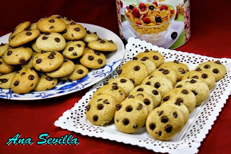 Cookies integrales sin huevo Ana Sevilla con Thermomix