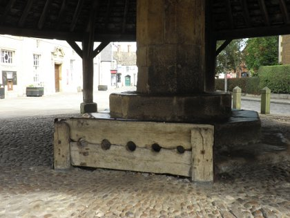 the stocks in Oakham