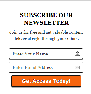 email-subscription-widget