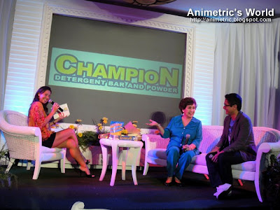 Christine Jacob-Sandejas, Susan Roces, and Ryan Agoncillo