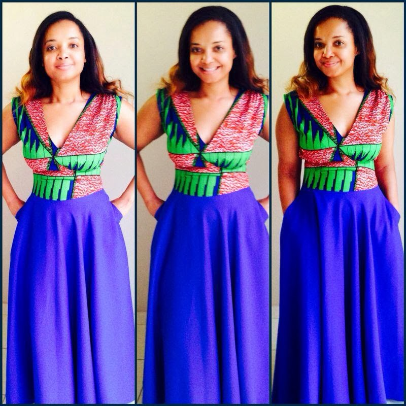 ... it! It's African : The summer maxi dress - gorgeous african fashion