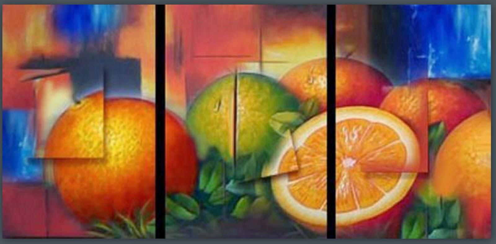 Cuadros modernos pinturas y dibujos pinturas al leo - Cuadros para cocinas modernas ...