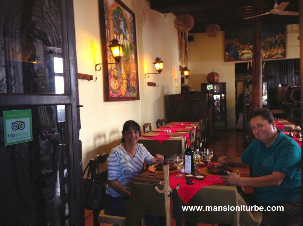 The winners of #MexicoEnBoca enjoying the best food from our Restaurant in Patzcuaro