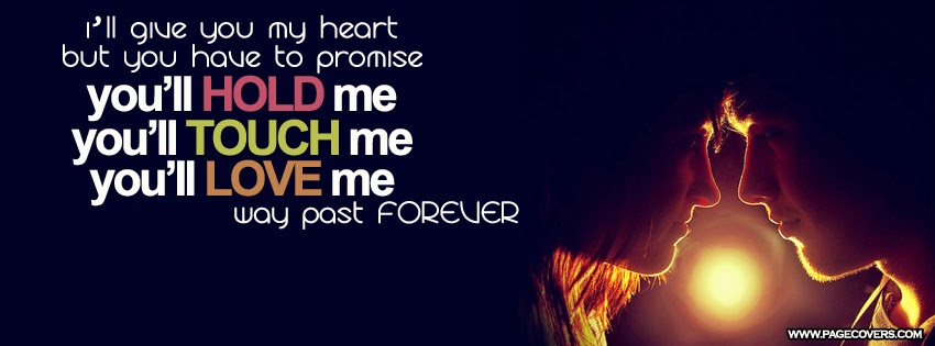 True Love Quotes Facebook Covers