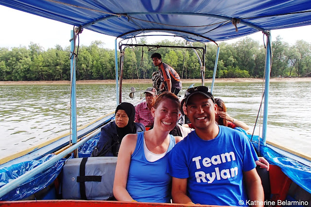 First Long-Tail Boat Ride in Phang Nga Bay