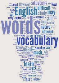 Teaching English vocab