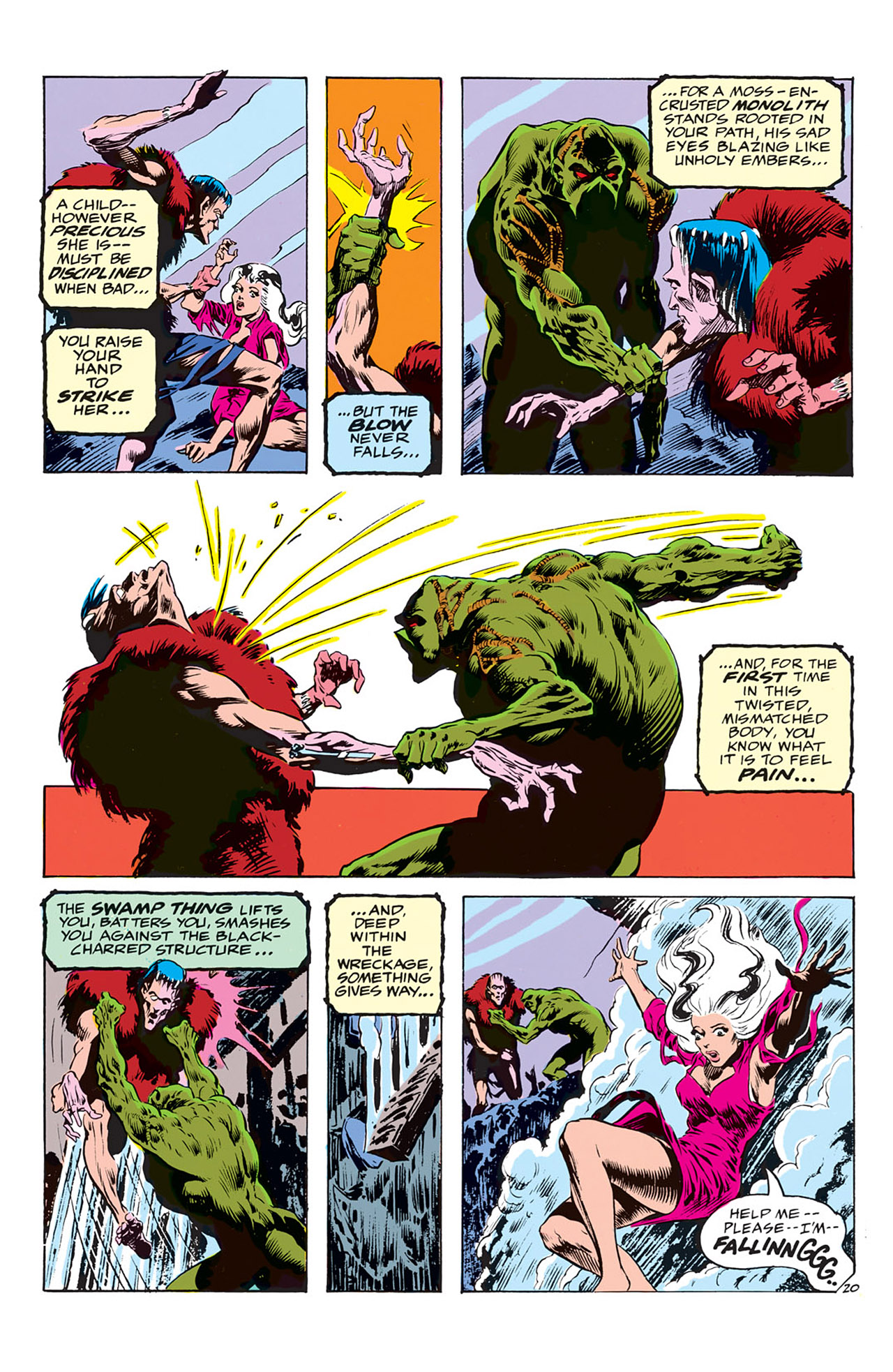 Swamp Thing (1972) Issue #3 #3 - English 21