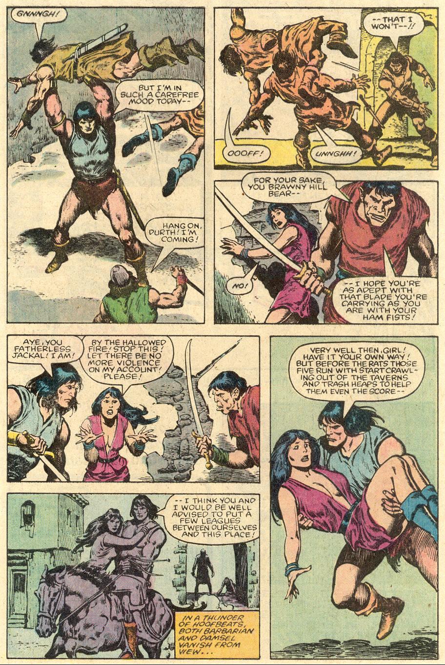 Conan the Barbarian (1970) Issue #150 #162 - English 4