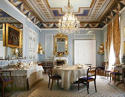 Educa enclave de arte el museo del romanticismo for Comedor isabelino