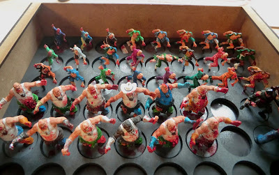Zombicide, all, runners, painted, zombies, complete, Storage, Sally 4th,