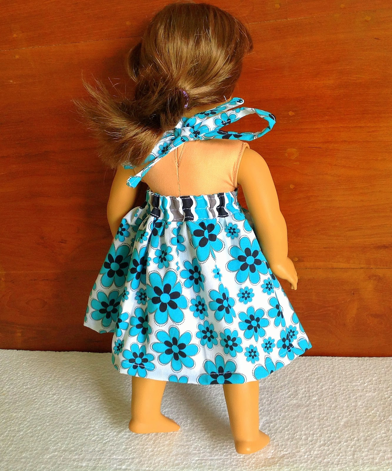 Sewing Patterns For Girls Dresses And Skirts American Doll Dress Pattern 18-inch Doll Dress ...