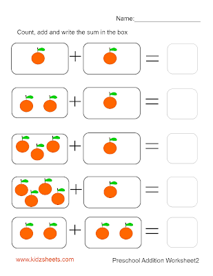 Displaying Images For - Addition Worksheets For Kindergarten...