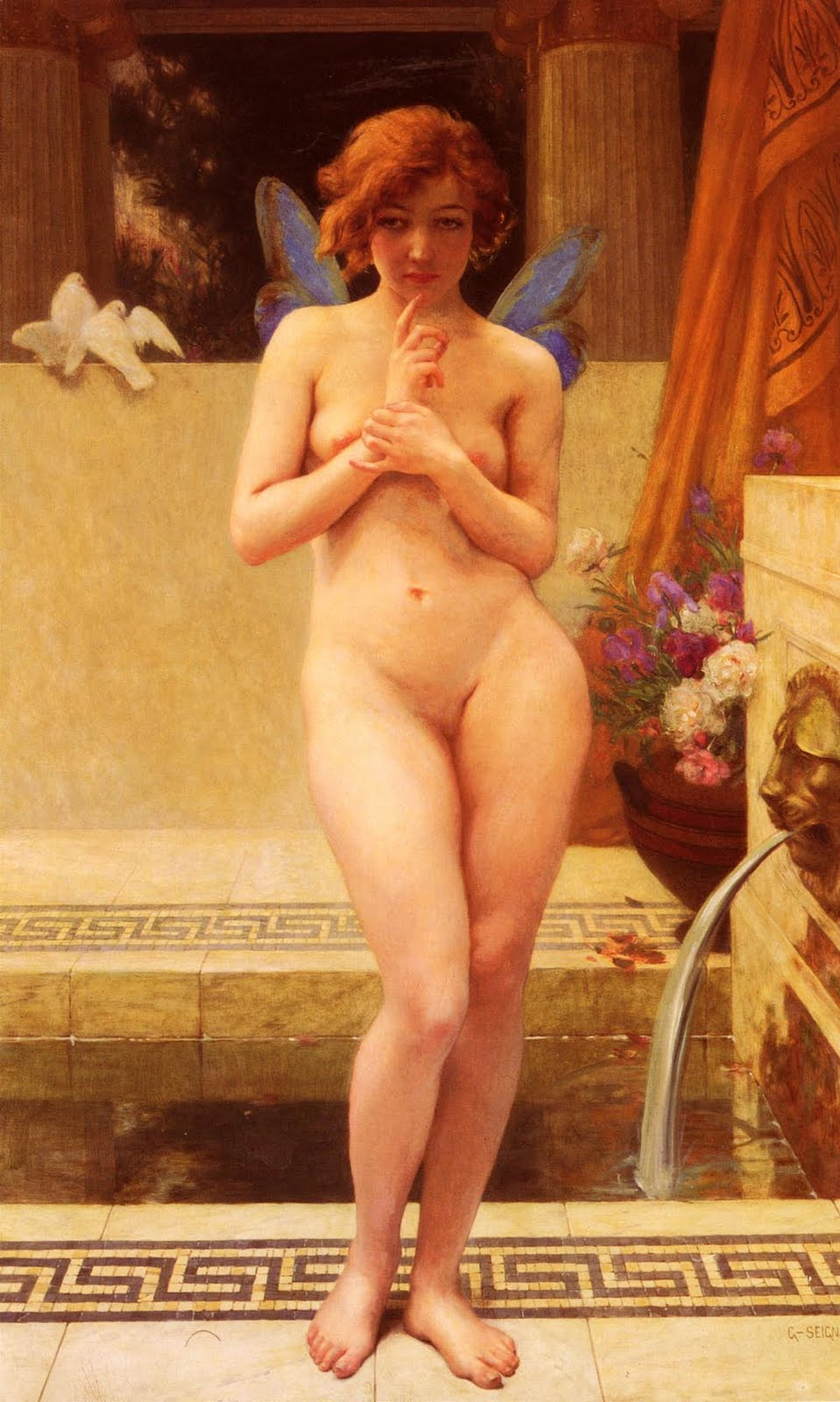 guillaume seignac nymph