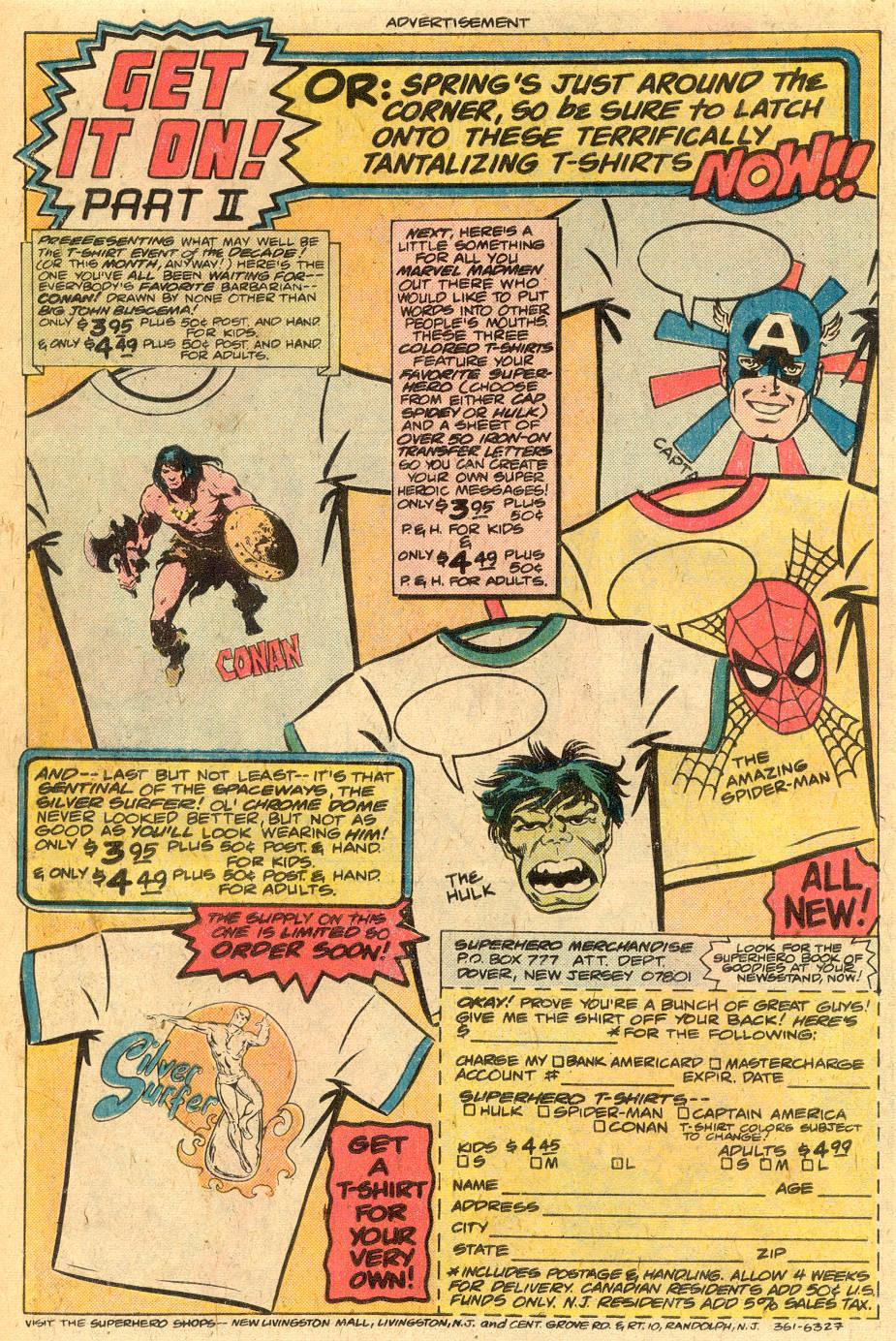 Conan the Barbarian (1970) Issue #76 #88 - English 20