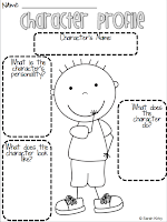 Compassionate Teacher: Character Study Graphic Organizers (Freebies)