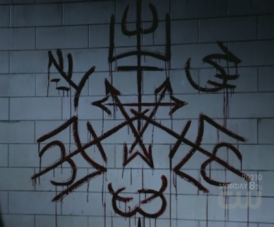 6x22 - The Man Who Knew Too Much purgatory sigil