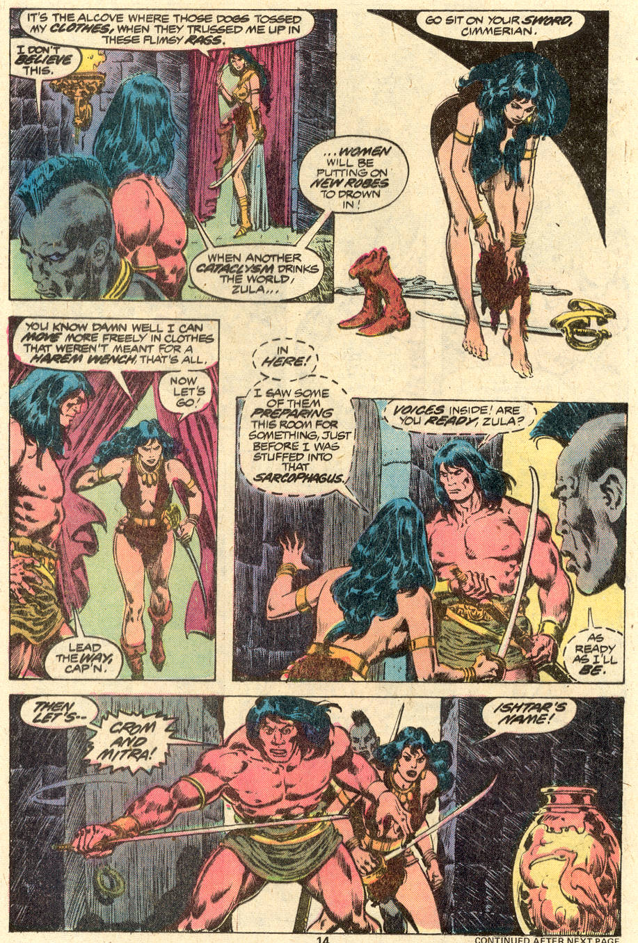 Conan the Barbarian (1970) Issue #88 #100 - English 11