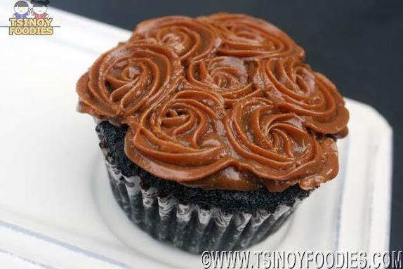 choco yema cupcake
