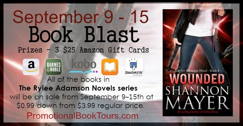 Wounded Book Blast