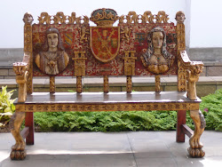 Ornate Courtyard Bench, Museo Pedro Osma, Lima