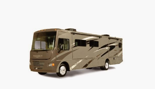 A bus S motorhome fra Go West i Canada