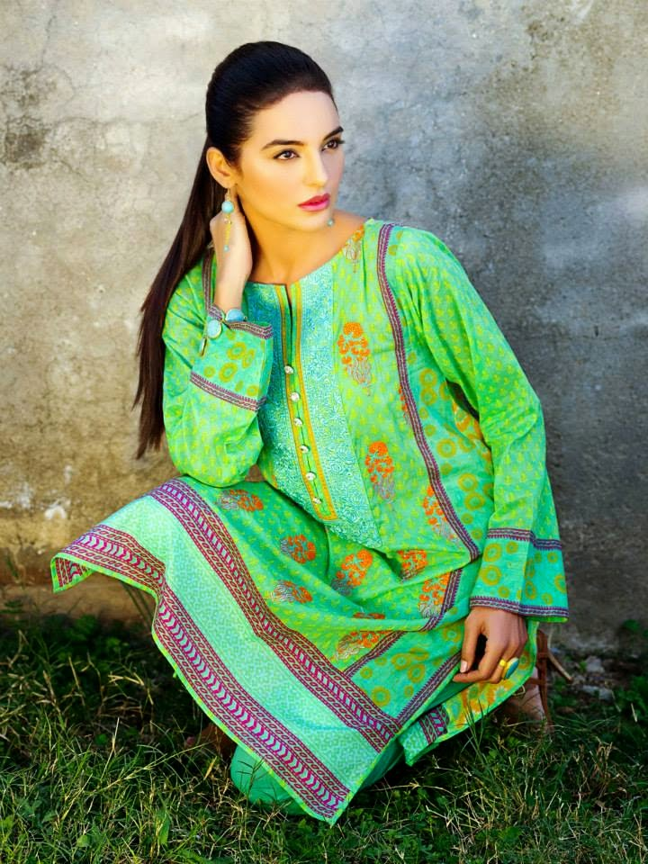Khaadi Lawn collection for Girls